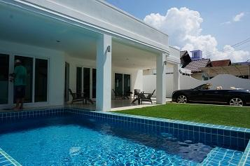 4 bedrooms House for rent - บ้าน - Naklua -